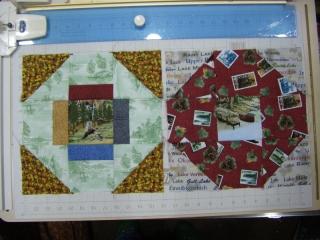 June: 9 Patch Blocks - Greek Cross & Octagon Blocks