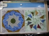 October: Paper Pieceing - Friendship Circle & Circle of Geese
