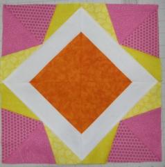 Orange, Yellow, Pink