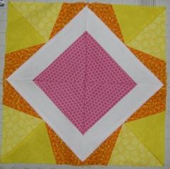 Pink, Orange, Yellow